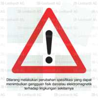 Indonesia Type Approval Label