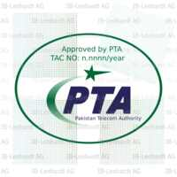 Pakistan Type Approval Label