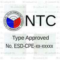 Philippines Type Approval Label